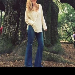 McGuire high waisted flare jeans